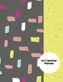 Art Teacher Planner K-12 - MOD Squad Black – UPDATED 2017-2018
