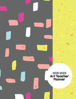 Art Teacher Planner K-12 - MOD Squad Black – UPDATED 2017-2018