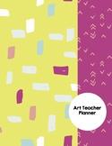 Art Teacher Planner K-12 - MOD Squad Pink – UPDATED 2018-2019