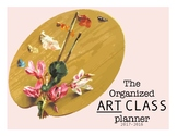 Art Teacher Planner or Binder Floral Version- Organize you