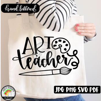 Art Teacher SVG Design