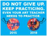 Art Teacher's Artistic Improvement Templates