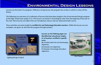 Art &Technology Education Design- Lessons