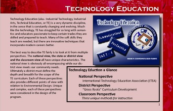 Art & Technology Education Design- Tech. Ed.
