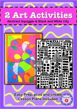 Art Activities - Abstract & City Scape