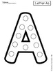 Craft Templates for Little Learners_Capital Alphabet