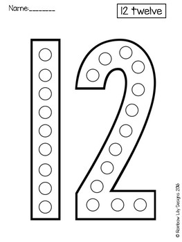 Craft Templates for Little Learners_Numbers 0 to 20