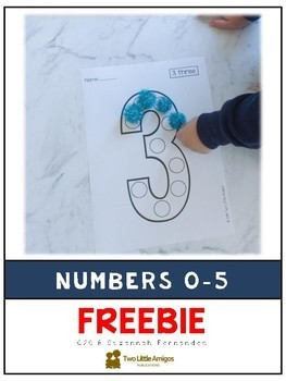 Craft Templates for Little Learners_Numbers 0 to 5