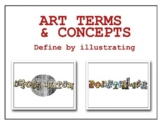 Art Terms & Concepts: Define by Illustrating