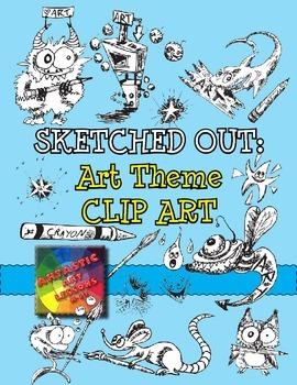 Art Classroom Clipart