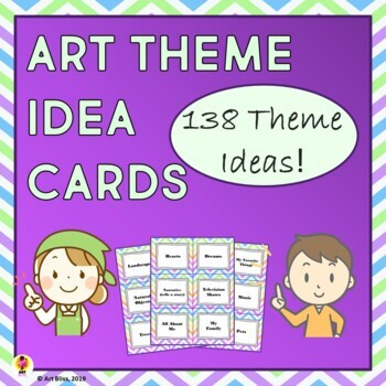 Art Theme Idea Cards