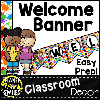 Art Theme Welcome Banner
