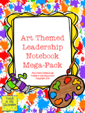 Art Themed Leadership Notebook