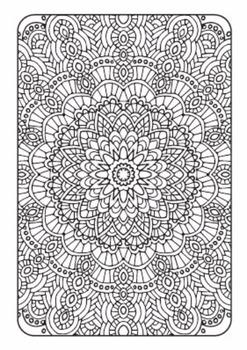 Coloring Book - Art Therapy Volume 1 - Printable PDF