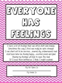"Art Therapy Counseling Lesson Plan: Emotional Awareness/""Everyone has Feelings"""