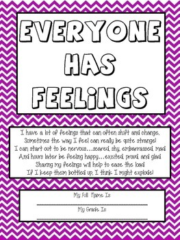 """Art Therapy Counseling Lesson Plan: Emotional Awareness/""""E"""