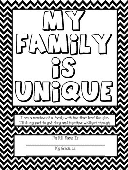"""Art Therapy Counseling Lesson Plan: Family/""""I Am a Member of a Family"""""""