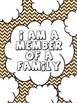 "Art Therapy Counseling Lesson Plan: Family/""I Am a Member of a Family"""