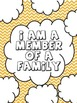 """Art Therapy Counseling Lesson Plan: Family/""""I Am a Member"""