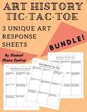 Art Tic-Tac-Toe Bundle