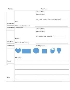 Art Token Response Paper