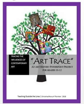 """Art Trace: An Art History """"Genealogy"""" Powerpoint Inquiry Project"""