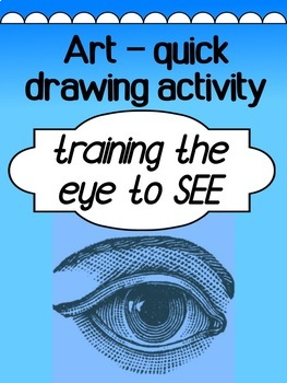 Art - Drawing Lesson / Practice - Training the eye to see