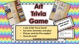 Art Trivia Card Game