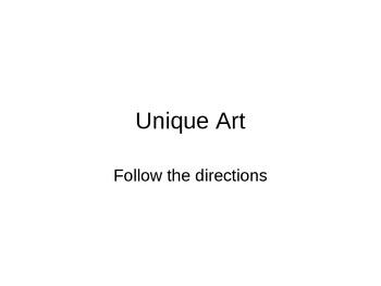 Art - Unique Drawing Lesson