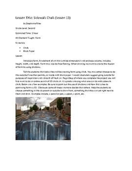 Art Unit- Form (lessons 13-15) Grade 2
