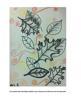 Art Unit- Line (lessons 1-3) Grade 6