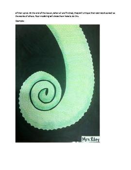 Art Unit- Line (lessons 1-4) Grade 3