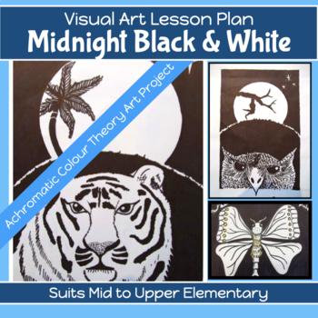 Art Unit: Midnight Black & White