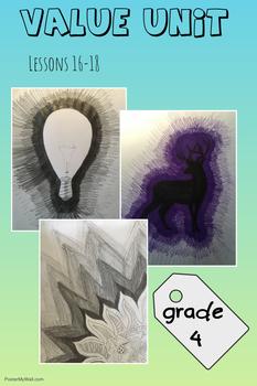 Art Unit- Value (lessons 16-18) Grade 4
