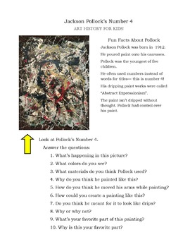 Art-Viewing for Kids With Jackson Pollock