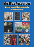 Art Mixed Media Visual Journal Bundle Middle or High School Art