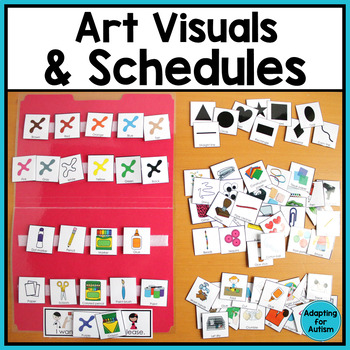 Art Visuals and Schedules for Special Education and Autism