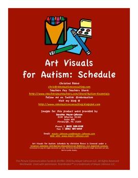 Art Visuals for Autism: Schedule
