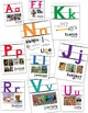 Art Vocabulary Alphabet Posters... Shows Words in English