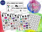 Art Vocabulary Bingo Game!