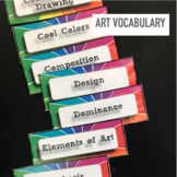 Art Vocabulary Classroom Word Wall