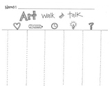 Art Walk and Talk Reflection sheet