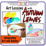 Art Lesson Bundle Fall Art Lessons With Autumn Leaves