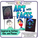 Art Lesson Bundle Art With Faces
