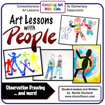 Art Lesson Bundle Art With People