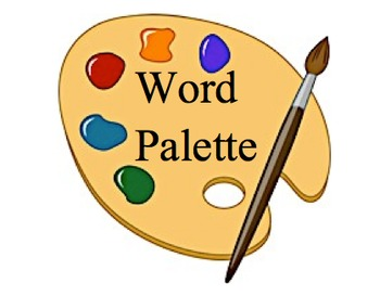 Art Word Palette for Word Wall