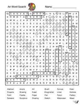 Art Word Search!