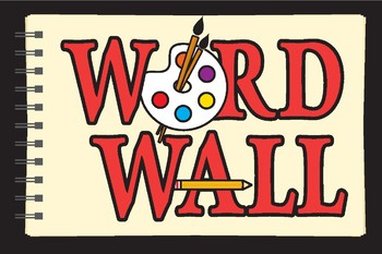 Art Word Wall Poster