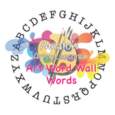 Art Word Wall  Words