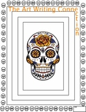 Halloween Art Writing Connection - 8 pages - Skulls - Pump